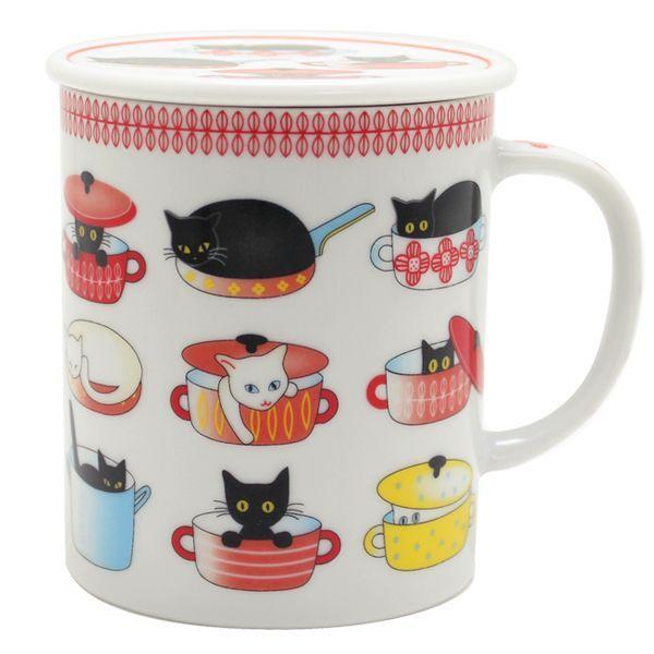 画像1: 鍋猫 赤