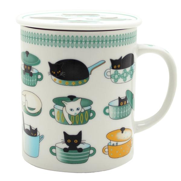 画像1: 鍋猫 グリーン